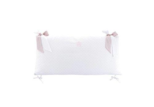 Theophile & Patachou Theophile & Patachou Bedbeschermer 70 cm Katoen Blush Pink
