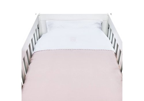 Theophile & Patachou Theophile & Patachou Donsovertrek Bed 100x135cm  + Sloop Blush Pink