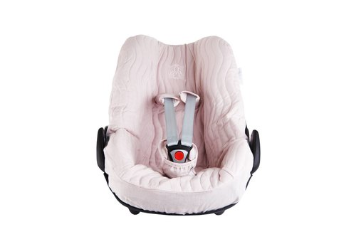 "Theophile & Patachou Theophile & Patachou Hoes Voor Maxi-Cosi ""Pebble & Pebble+"" - Gewatteerd Blush Pink"