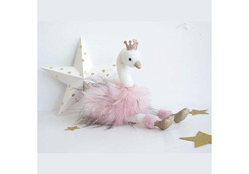 Histoire D'Ours Histoire D'Ours Swan Pink 30 cm