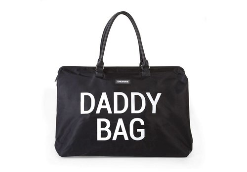 Childhome Childhome Daddy Bag Big Black