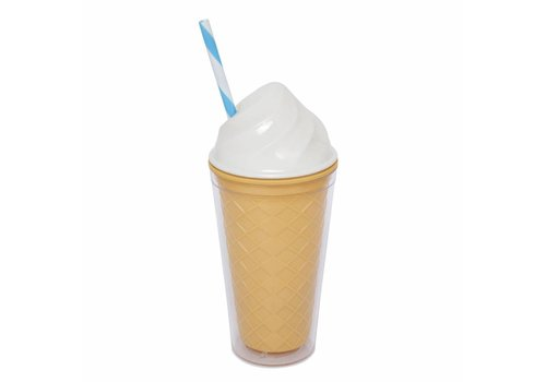 Sunnylife Sunnylife Drinking Cup Ice Cream White
