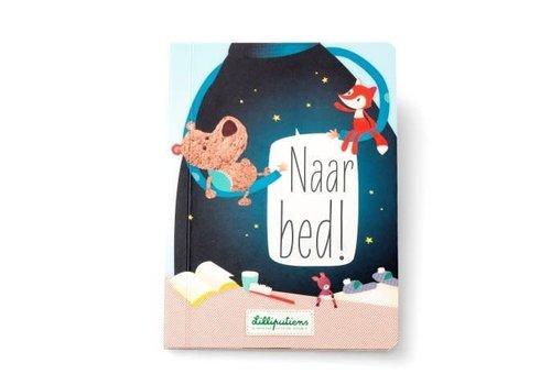 """Lilliputiens Lilliputiens Voelboek """"Naar Bed"""" NL"""
