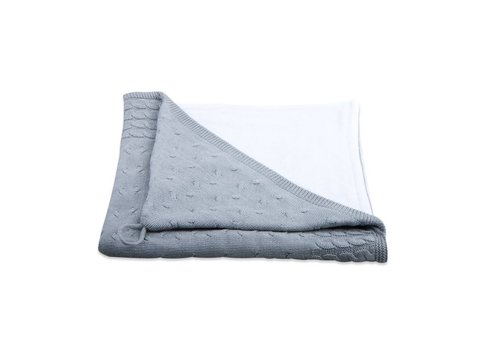 Baby's Only Baby's Only Bath Cape Kabel Chenille Light Grey