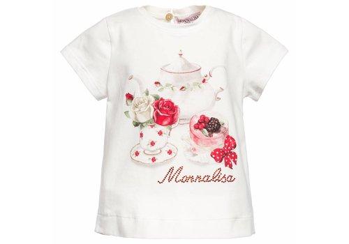Monnalisa Monnalisa T-Shirt Cake - Roosjes