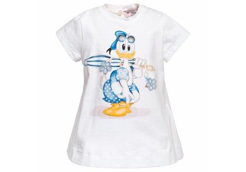 Monnalisa Monnalisa Maxi T-Shirt St.Duck