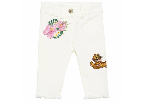 Monnalisa Monnalisa Broek Patch Jungle