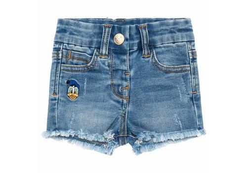 Monnalisa Monnalisa Short Jeans Appl.Baby