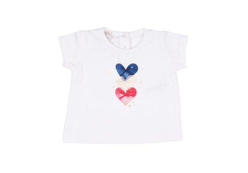 Liu Jo Liu Jo T-Shirt White Hearts