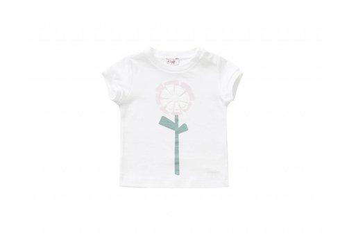 Il Gufo Il Gufo T-Shirt Bloem Roze
