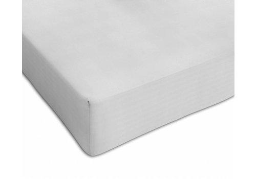 Mythos Mythos Fitted Sheet Tencell 60 x 120 White