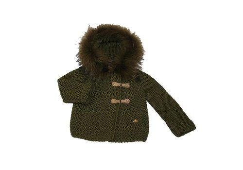 Casilda Y Jimena Casilda Y Jimena Coat With Hood Kaki