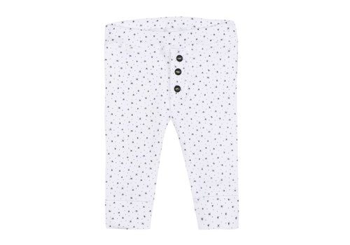 Absorba Absorba Pants White - Black Stars