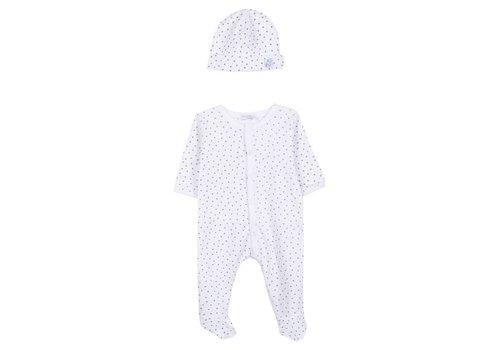 Absorba Absorba Pyjama Wit Met Sterretjes