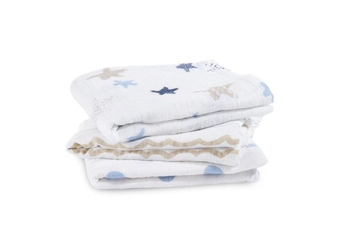 Aden & Anais Aden & Anais Swaddle Musy Rock Star 3-Pack
