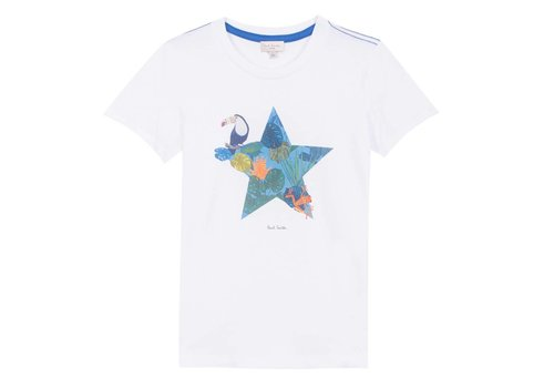 Paul Smith Paul Smith T-Shirt Wit 18E5L10682