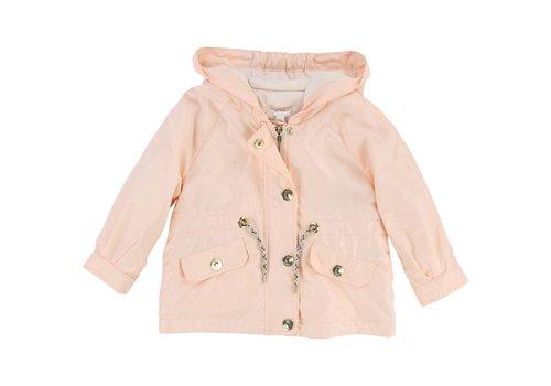 Chloe Chloe Jacket With Hood Pink