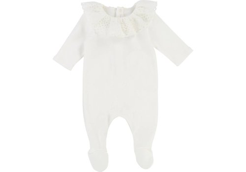 Chloe Chloe Pyjamas Collar Off-white