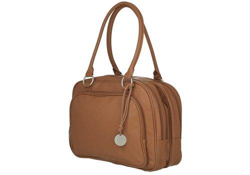 Lassig Lassig Luiertas Tender Multizip Bag Cognac
