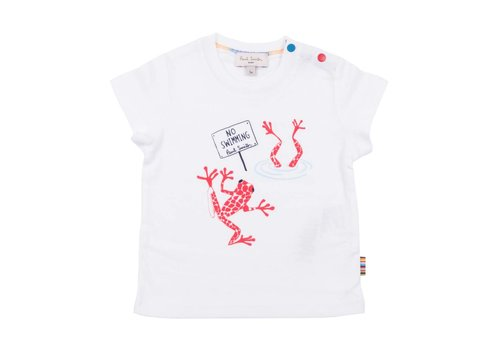 Paul Smith Paul Smith T-Shirt White 'No Swimming'