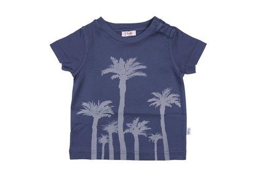 Il Gufo Il Gufo T-Shirt Palmbomen Blauw