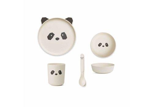 Liewood Liewood Eetset Panda Bamboo