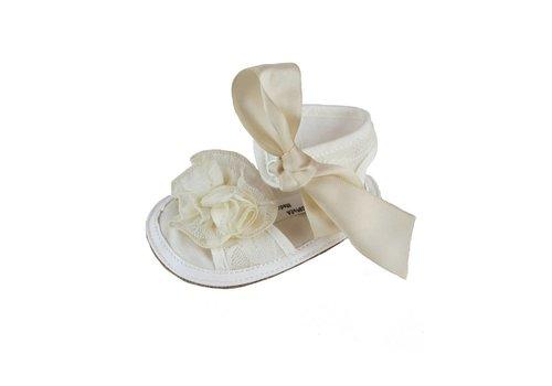 Aletta Aletta Sandal White Bow