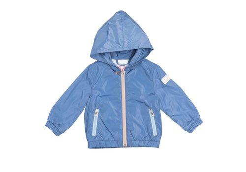 Il Gufo Il Gufo Coat Denim Blue - Sand