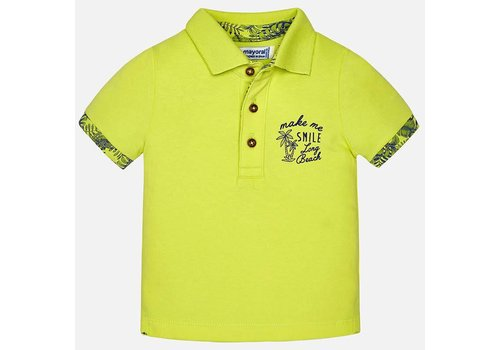 Mayoral Mayoral Polo Pineapple 'Make Me Smile'