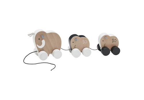 Kids Concept Kids Concept Pull Toy Neo Family Mammoth