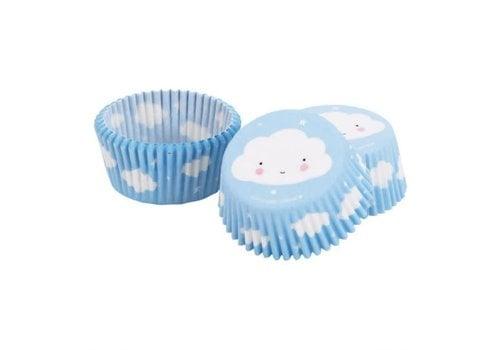 A Little Lovely Company A Little Lovely Company Cupcake Vormpjes Wolk 50 Stuks