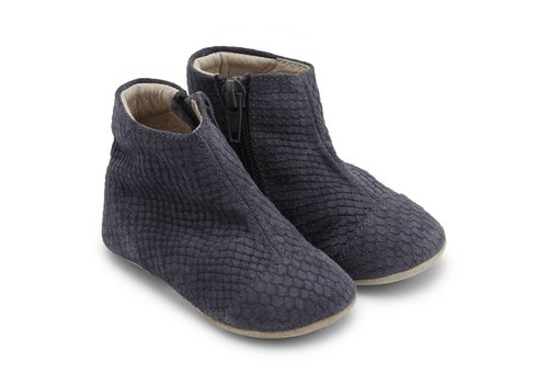 Petit Nord Petit Nord Shoes With Zipper Grey Snake