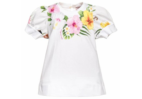 Monnalisa Monnalisa T-Shirt St.Fiori Jungle