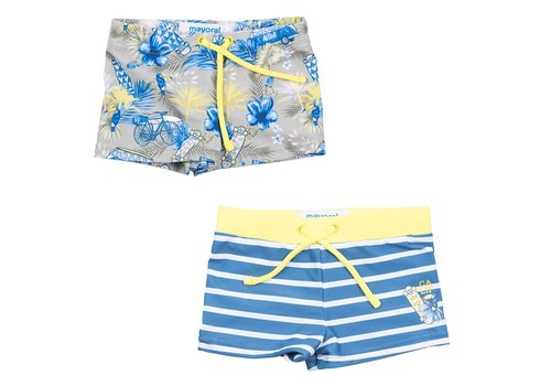 Mayoral Mayoral Zwemshorts Set Pineapple