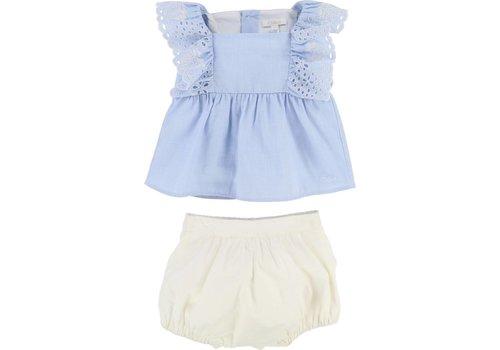 Chloe Chloe Outfit Denim Blue