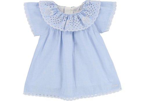 Chloe Chloe Kleedje Denim Blue