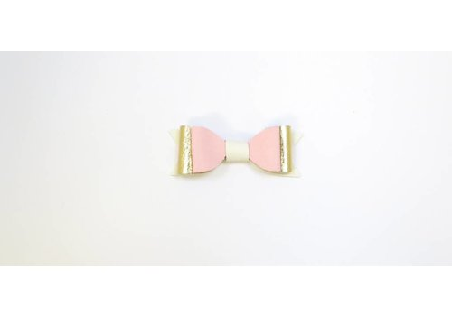 Pluisjes Pluisjes Clips Deluxe XS White - Creme Baby Pink
