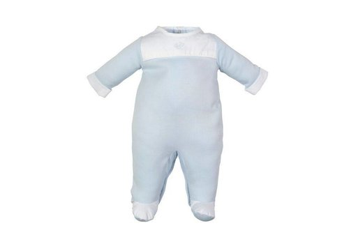 Laranjinha Laranjinha Pyjamas With Feet Classic Blue
