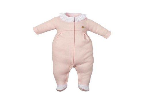 Laranjinha Laranjinha Pyjama Roze Met Wit Kraagje