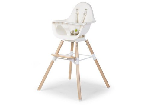 Childhome Childhome Chair Evolu 80 Natural- White