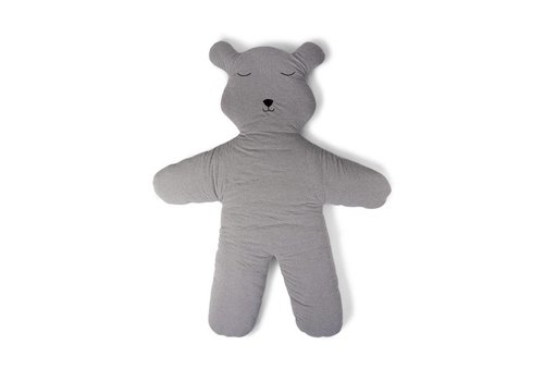 Childhome Childhome Play Mat Teddy 150 cm Jersey Grey