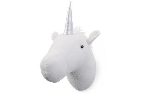 Childhome Childhome Unicorn Muurdecoratie Vilt Wit
