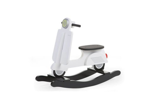 Childhome Childhome Schommel Scooter Wit