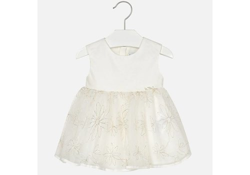 Mayoral Mayoral Dress Tulle Champagne