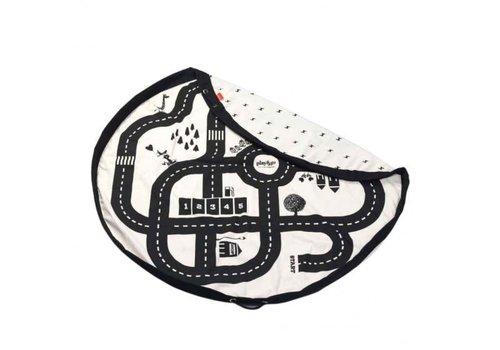 Play&Go Play&Go Opbergzak Autobaan / Bliksem