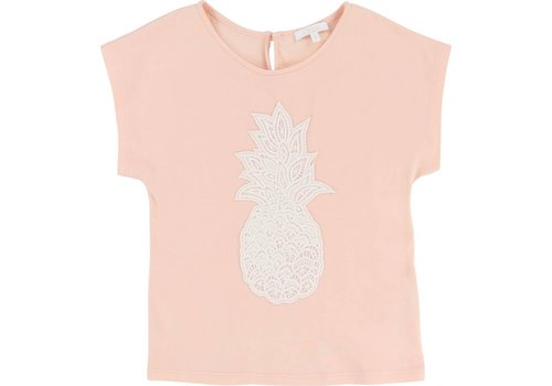 Chloe Chloe T-Shirt 'Ananas' Poudre