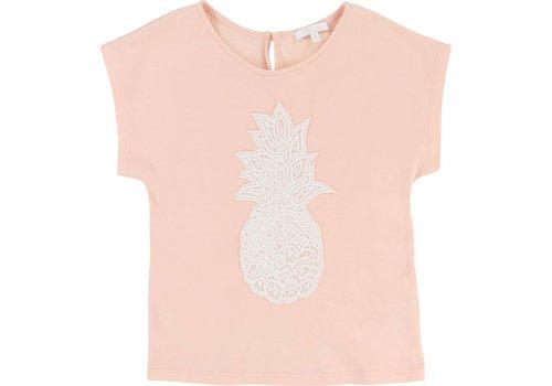 Chloe Chloe T-Shirt 'Pineapple' Poudre