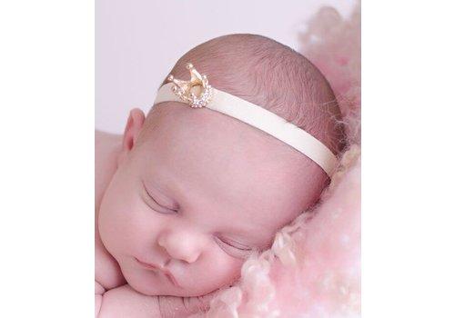Cute Cute Cute Cute Haarband Kroontje Goud