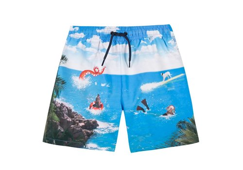 Paul Smith Paul Smith Zwemshort 'Sea' Lichtblauw