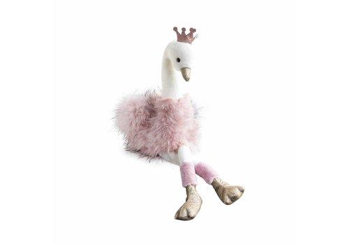 Histoire D'Ours Histoire D'Ours Swan Pink 80 cm